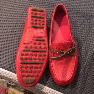 Cole Haan Shoes - Cole Haan red leather boat shoes - size 6